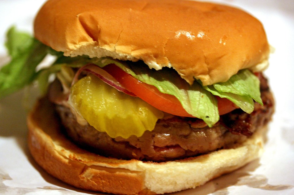 Hamburger with