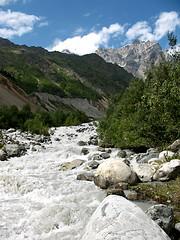 Chalaati River Gorge