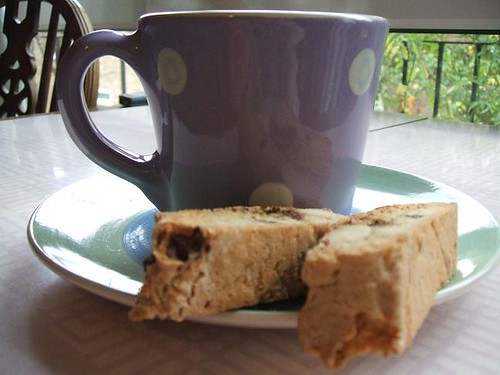 Tea and biscotti
