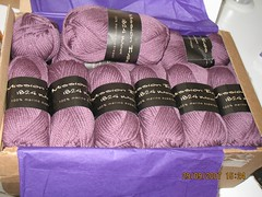 Mission Falls Yarns - Coloris Amethyst 23