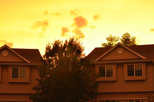 Creepy Yellow Sky