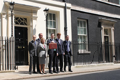 HM Treasury ministers during photocall