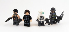 BA Minifigs (Titolian) Tags: snow trooper green modern soldier post lego random space sniper future spy guns minifig showcase apoc brickarms