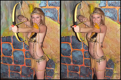 Cancun Cantina - Halloween '10 (starg82343) Tags: costumes ladies woman sexy halloween beautiful lady female bar club fun stereoscopic stereogram 3d crosseye women pretty gorgeous brian fine makeup dressup celebration indoors stereo fantasy linda wallace inside stereopair gals depth built stacked ashlee skimpy pretend stereoscopy stereographic freeview crossview brianwallace xview stereoimage xeye cancuncantina stereopicture