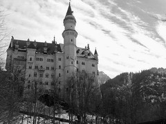 Neuschwastein (Filippo Marroni) Tags: white house black castles towers marroni manor neuschwanstein bianco nero filippo palaces