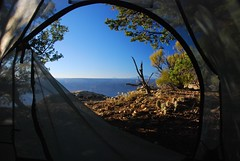 Cape Final, Grand Canyon (Ziemek T) Tags: camping tent backpacking northrim grandcanyonnationalpark bigagnes capefinal
