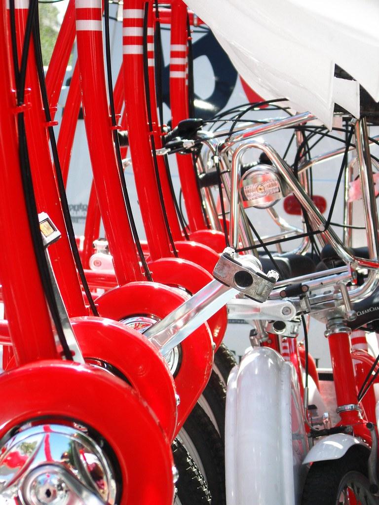 Brand new bikes for Barcelona