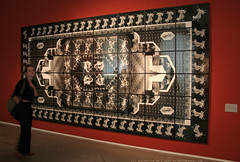 documenta 12 | Zofia Kulik / The Human Motif (l) | 1989 | Fridericianum ground floor