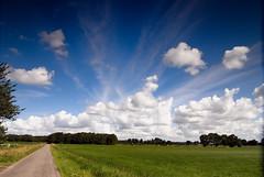 cloud busting blue