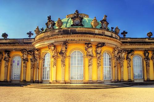 Potsdam Sanssouci Palace by Wolfgang Staudt
