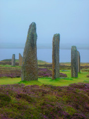 Orkney Islands - Ring of Brodgar (little_frank) Tags: world old uk greatbritain wild lake heritage history archaeology monument nature vertical skyline standing circle wonder landscape freedom islands scotland site ancient orkney stenness scenery europe colours view place unitedkingdom britain stones magic free scottish escocia historic ring unesco special fantasy land erica ritual celtic wilderness pillars pure prehistoric monolith impressive stands stacks monoliths neolithic schottland bedrock henge sensation druids celts ecosse brodgar brogar scozia monolithic primordial isthmus coloumns isole harray the4elements orcadi heritagesite288 heritagesite291