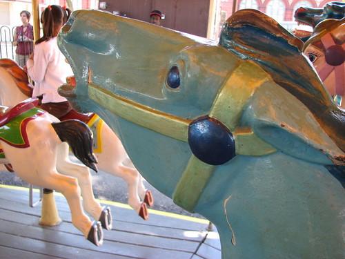 BLUE HORSE!!