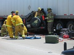 Accident on I-15 North