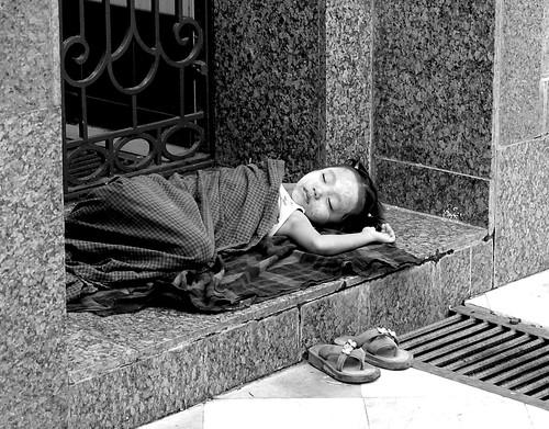Myanmar - Sleeping Child