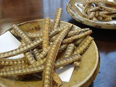 鰻骨唐揚げ / Fried Eel Bone without coating