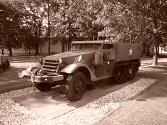 M3A1 Halftrack Vehicle (John Rohan) Tags: army wwii halftrack usarmy armoredcar m3a1