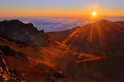 Maui Destination - Haleakala Crater - Sunrise