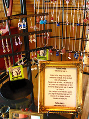 Two shelves in a boutique (p may) Tags: glass pearls luck sterling ifonly mybeads pmay mydayjob ihopetheysell inaboutique icouldquit wishme