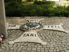 Westerplatte museum , Gdańsk 27.08.2007 (szogun000) Tags: cemetery museum fuji poland polska finepix fujifilm gdansk pomerania westerplatte pomorze s3500 pomorskie virtutimilitari