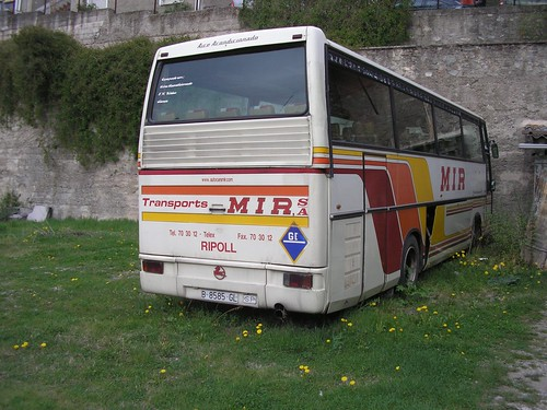 Autocar Pegaso de TRANSPORTS MIR de Ripoll