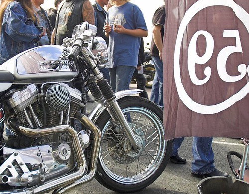 Harley Sportster Cafe Racer, 59 Club; ← Oldest photo
