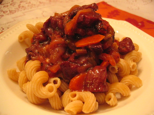 Como Cocinar Seitan | What The Hell Does A Vegan Eat Anyway Seitan Braised In Barolo