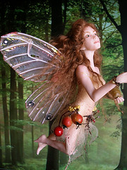 #50 Mab ~ Autumn Equinox Fairy (Nenfar Blanco) Tags: autumn sculpture art fall doll handmade oneofakind ooak magic polymerclay fairy fantasy otoo faerie equinox hada fae equinoccio arcillapolimrica nenufarblanco