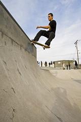 Mario Matabele - Vert Tailslide (zachwass2000) Tags: park vertical tail gap slide vert ollie skatepark skate skateboard grind quarterpipe tailslide berkeleyskatepark mariomatabele