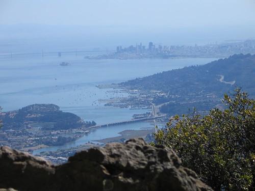 Mount Tamalpais: View to San Francisco Bay