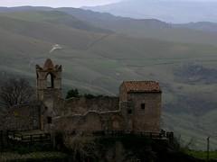 ___ (RoBeRtO!!!) Tags: mountain tower church architecture landscape ruins torre chiesa sicily palermo architettura paesaggio monti rovine rdpic polizzigenerosa lacommenda canong7