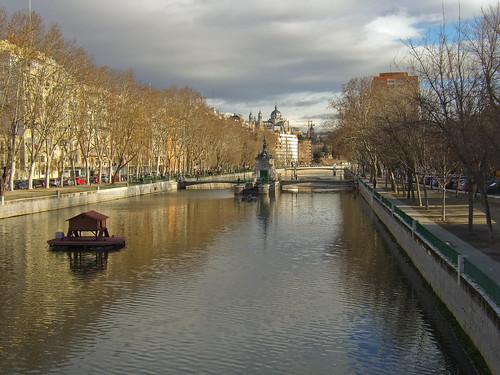 Rio Manzanares. Madrid