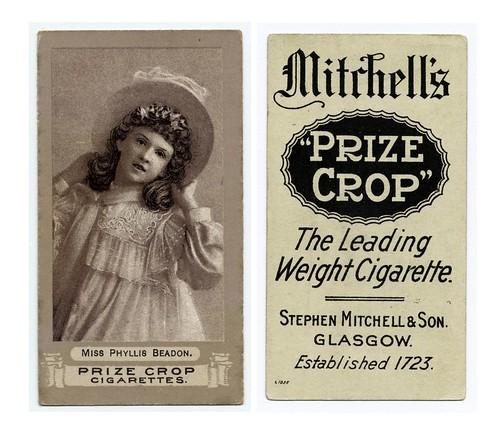 001-Miss Phyllis Beadon. 1890-1900