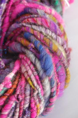 pink closeup skein