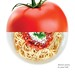 Los Angeles Streetcar (LASI) Advertisement - Tomato / Pasta