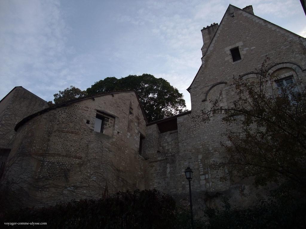 Maisons sur la muraille