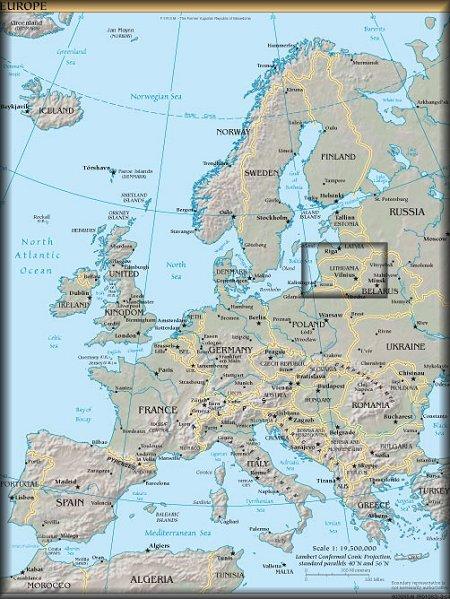 lithuania-vilnius-map