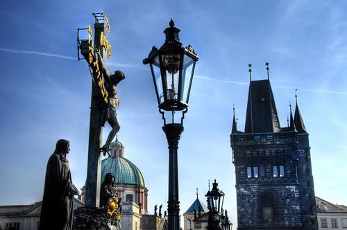 Charles bridge. Prague. Puente de Carlos. Praga
