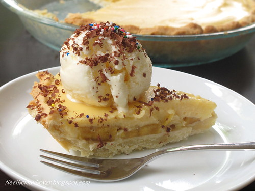banana ice cream pie