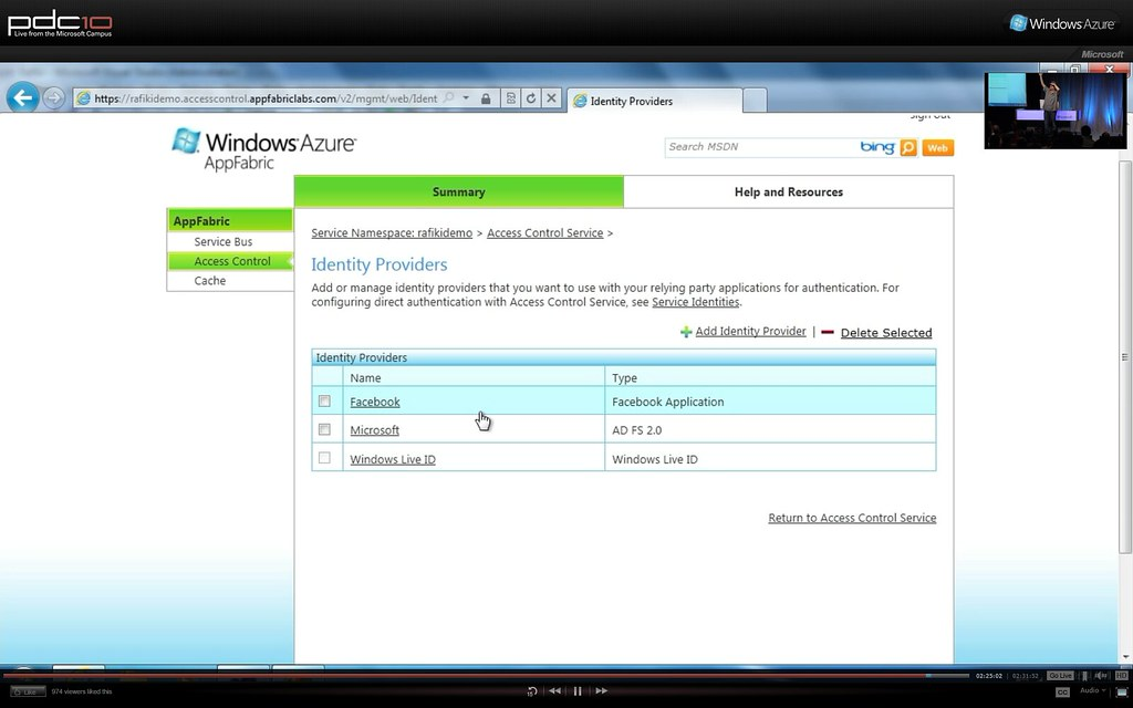 AppFabrice Access Control 1