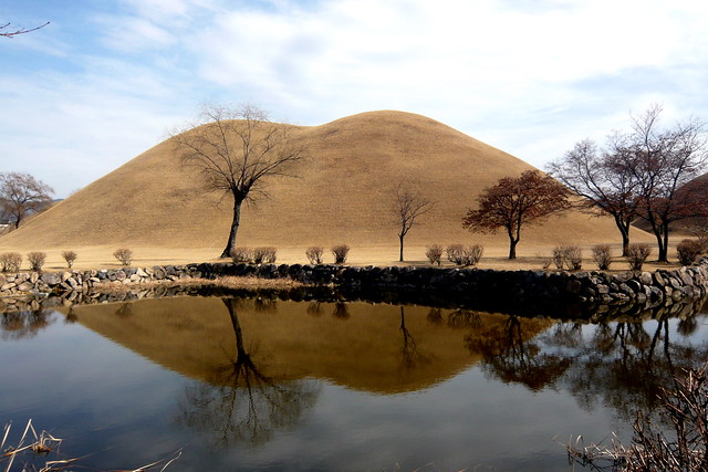 慶州 大陵苑 The Tumuli Park, Gyeongju