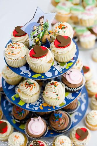 Toy Story Birthday Cupcake Tower