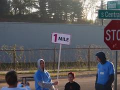 1 mile marker