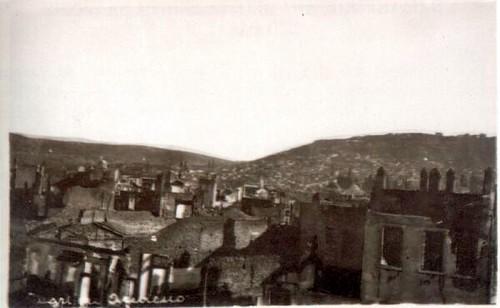 Yangından sonra Ermeni Mahallesi