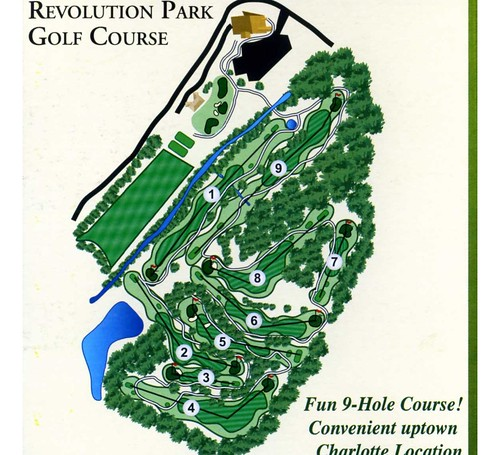 Revolution Golf New Layout