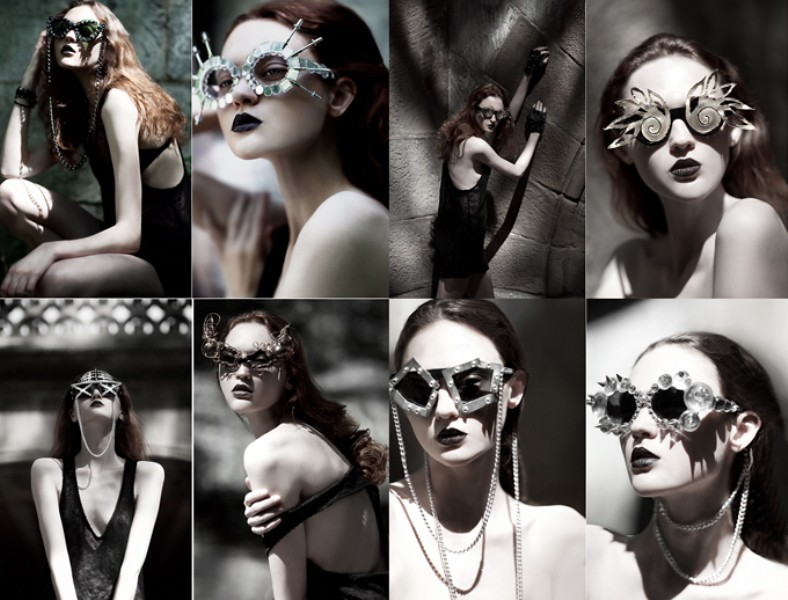 Mercura eyewear photographed by Lara Jade