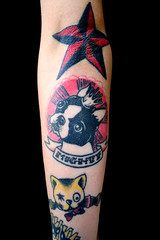 Tattoo (All-Mighty Clothing) Tags: boston tattoo bostonterrier terrier