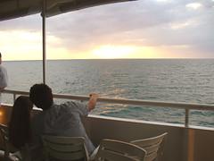 Some Enchanted Evening (Barefoot In Florida) Tags: sunset gulfofmexico couple romance casinoship