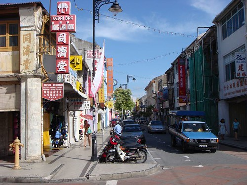 Chinatown, Penang.