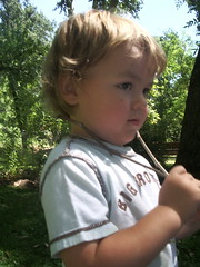 Judah at the park
