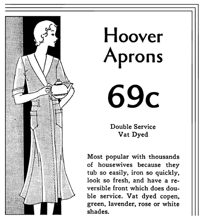 hoover apron